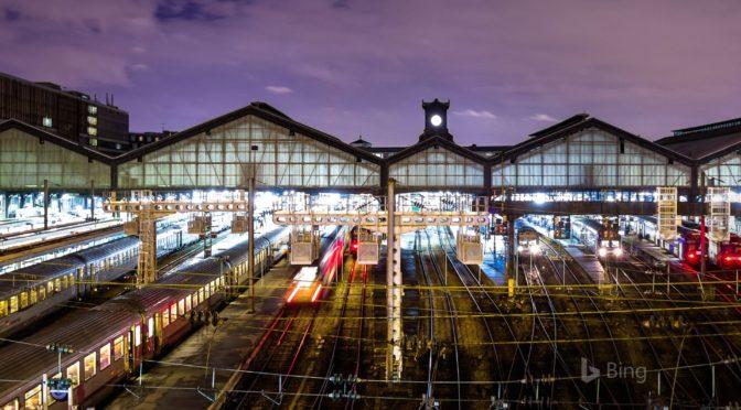 Gare Saint-Lazare Train Station, Paris, France