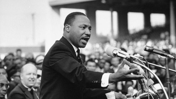 Rev. Dr. Martin Luther King Jr. speaking.  (Photo by Julian Wasser//Time Life Pictures/Getty Images)